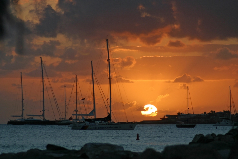 SXM Sunset Simpson Bay03092009